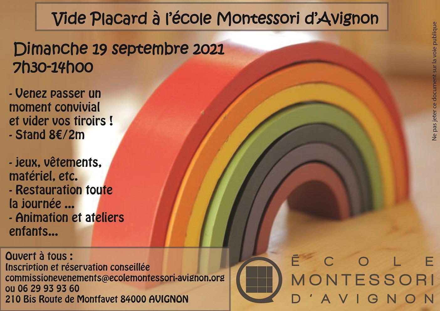 Vide Placard à l'école Montessori