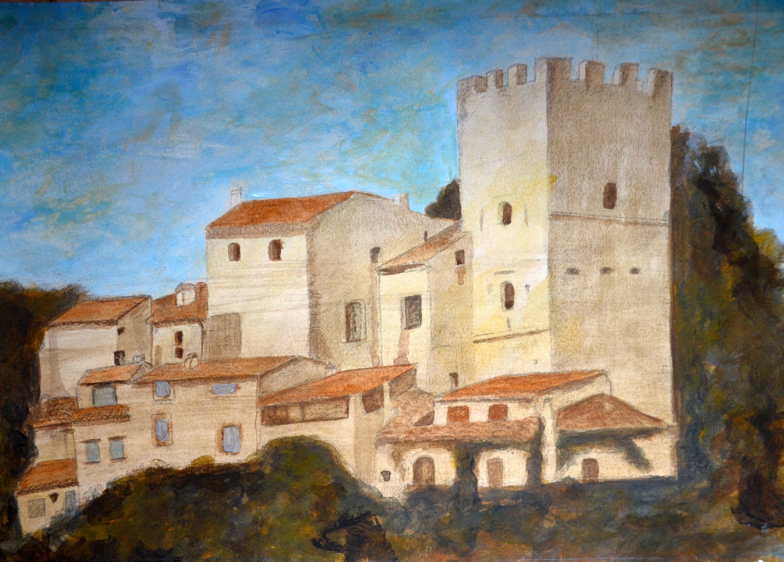 Visite guidée du château d'Esparron par son propriétaire