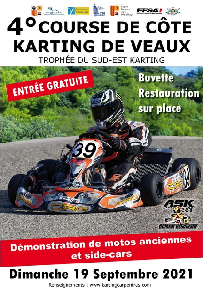 4° Course de Côte Karting de Veaux