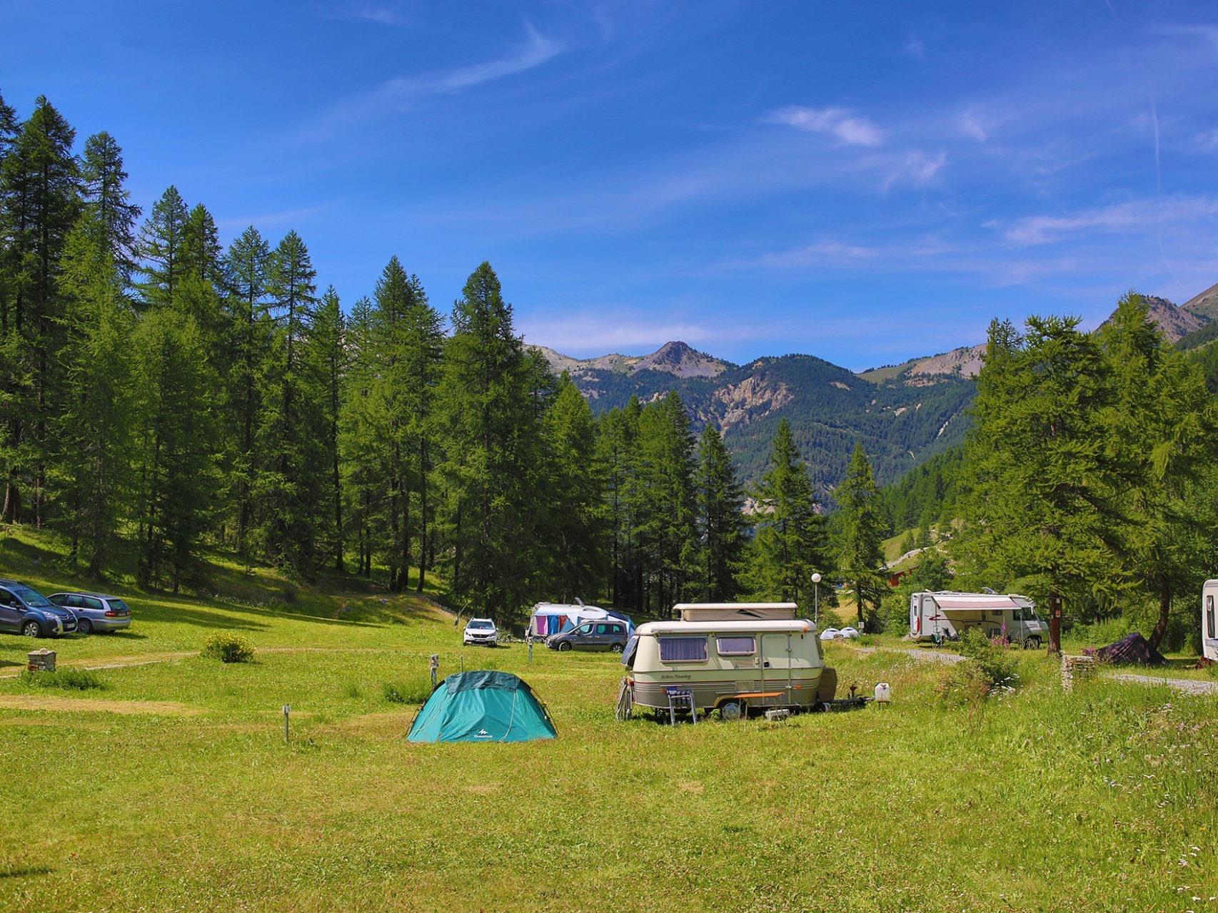 campsite Camping Le Val Fleuri Cagnes-sur-Mer