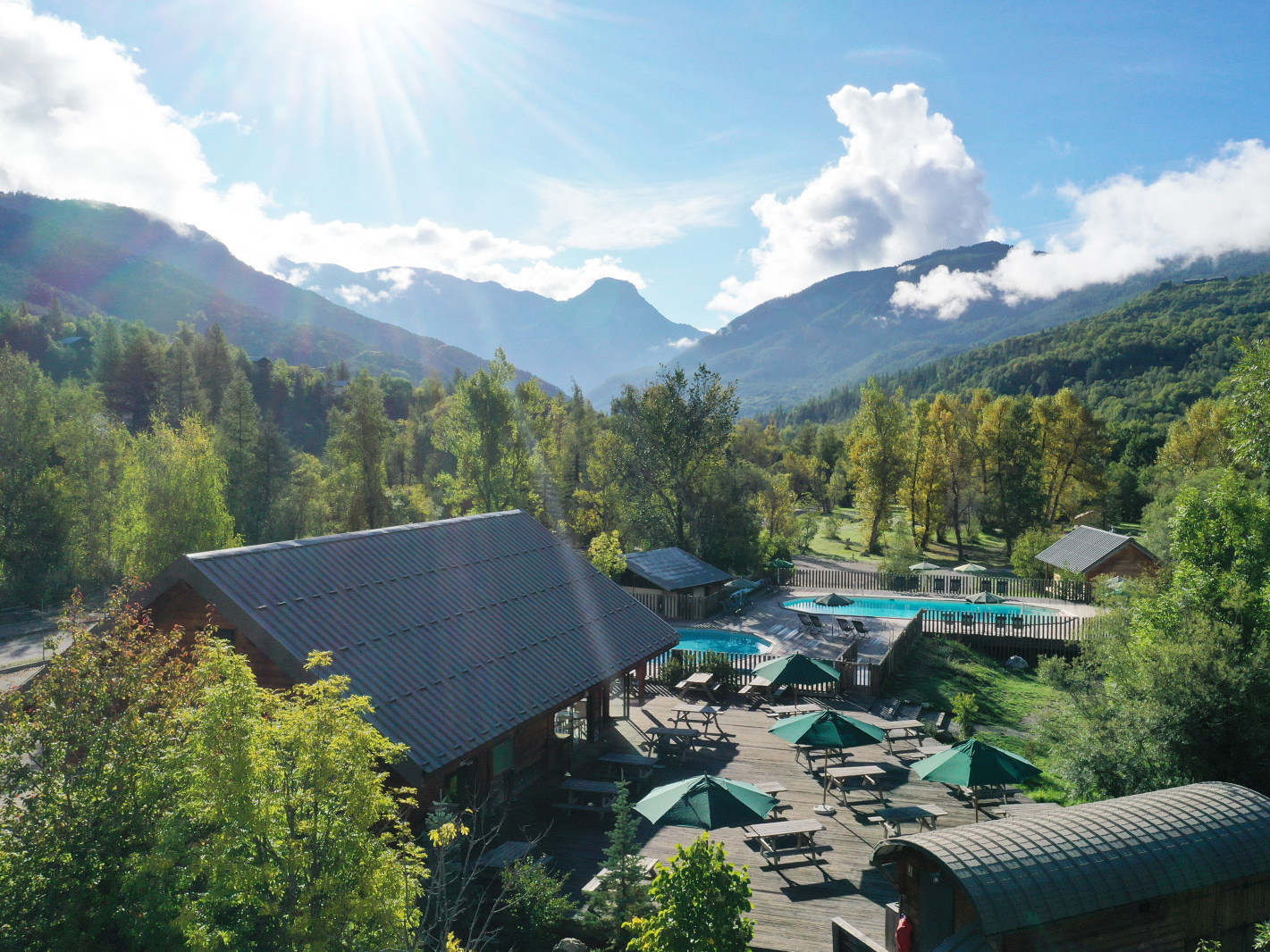franse-camping Huttopia Vallouise VALLOUISE