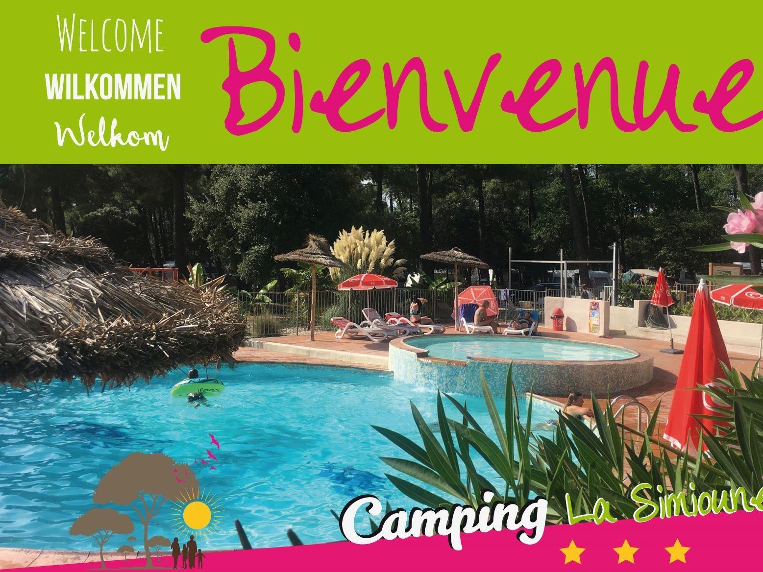 franse-camping Camping La Simioune en Provence BOLLENE