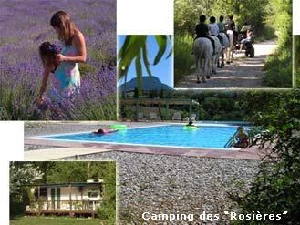 Camping Camping des Rosières ROSANS