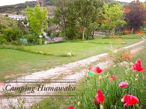 campsite Camping Humawaka Comps sur Artuby