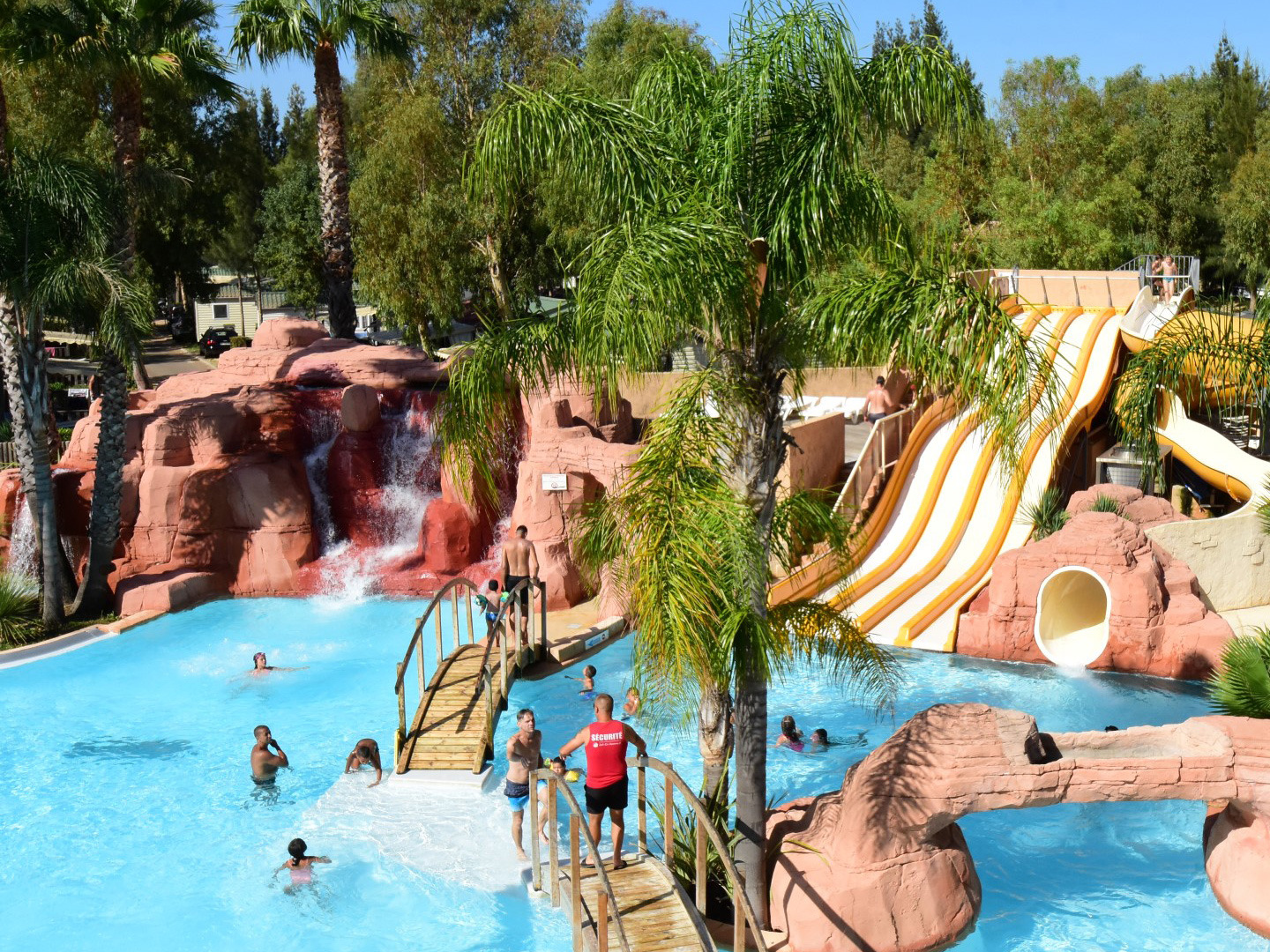 franse-camping Camping Les Palmiers HYERES