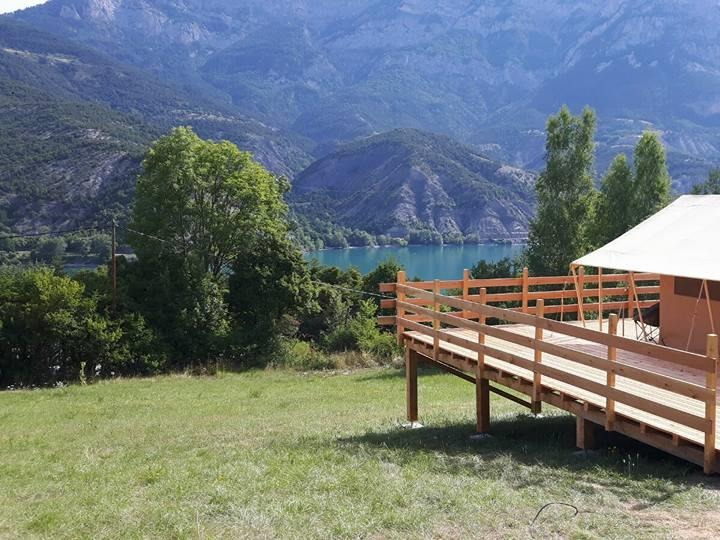 franzosisch-camping Camping Lou Pibou Saint Vincent les Forts