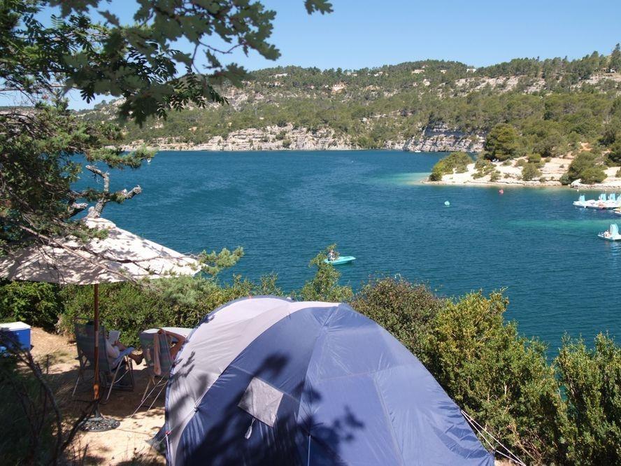 campsite Camping LE SOLEIL ESPARRON de VERDON