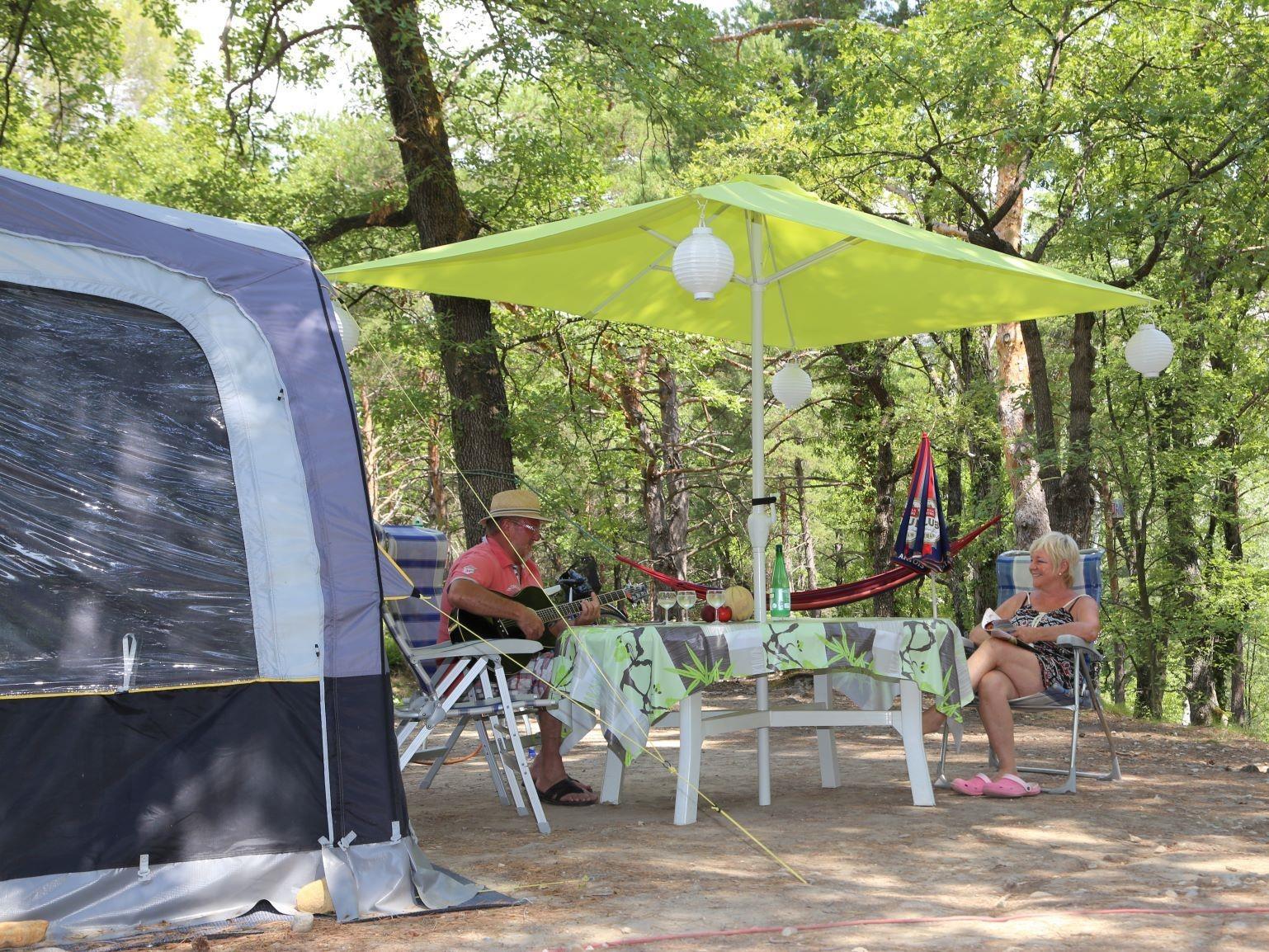 campsite Camping Le Moulin Moustiers Sainte Marie