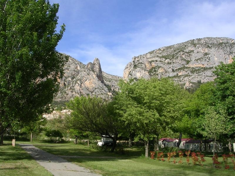 franse-camping Camping Saint Jean Moustiers Sainte Marie