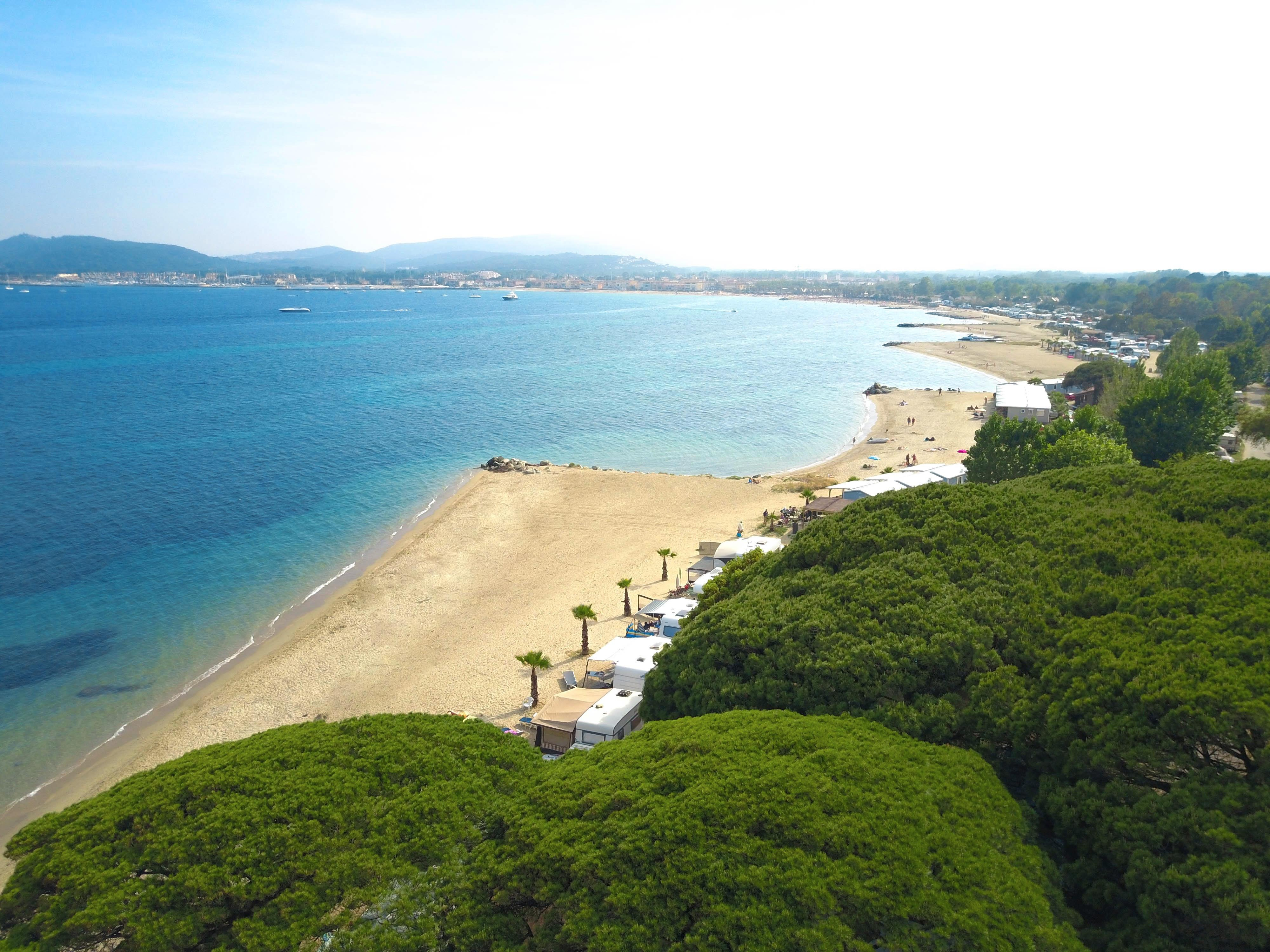 franse-camping Camping des Mûres Grimaud