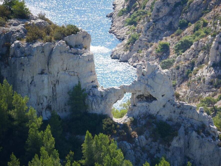 Rond Marseille et les Calanques