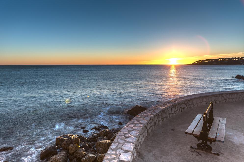 Around Baie des Anges, de Nice à Antibes